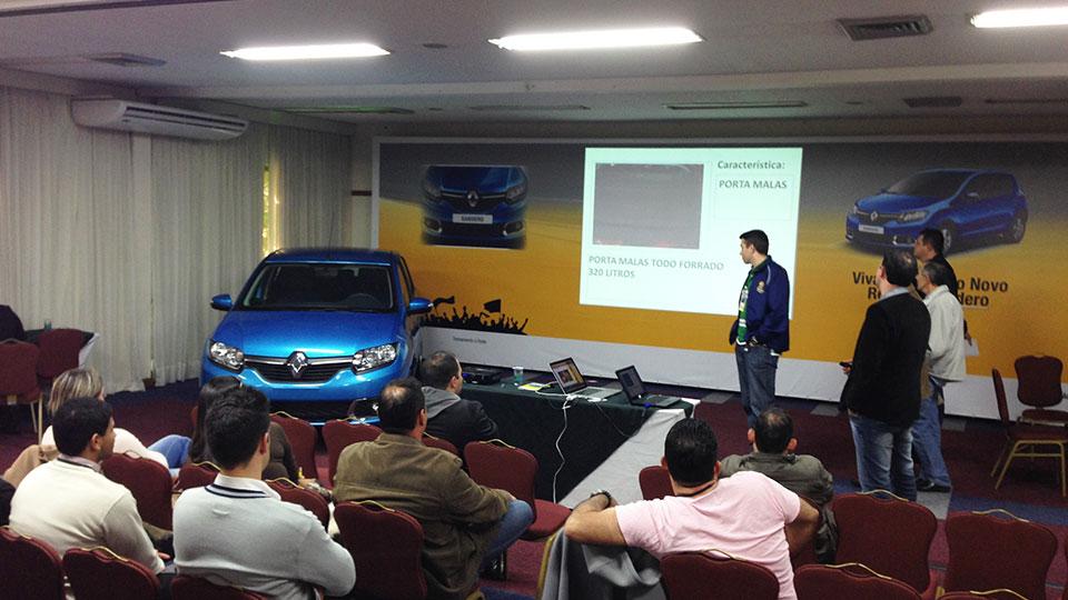 Lançamento Novo Renault Sandero 2014