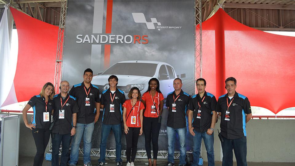 Lançamento Sandero R.S. 2015